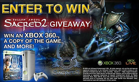 Sacred 2 Cheats Xbox 360