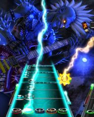 Guitar Hero: Warrior of Rock Box Art
