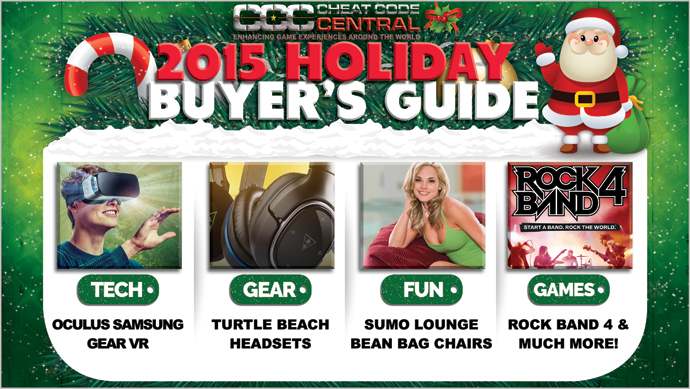 CheatCC's 2015 Holiday Buyer's Guide