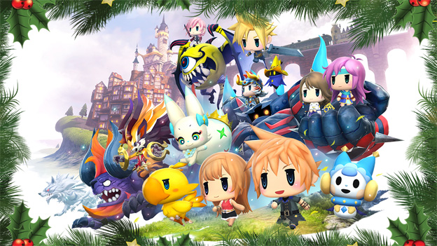 world of final fantasy guide
