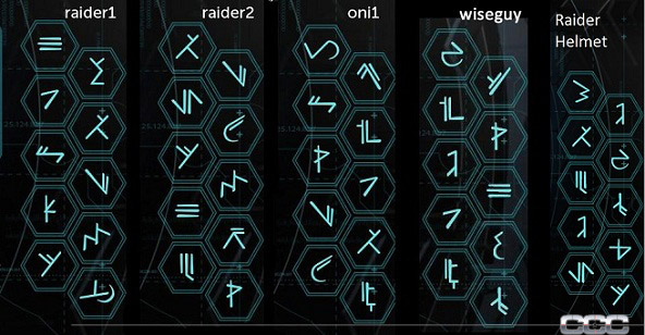 Secret Halo 4 Waypoint Glyph Codes