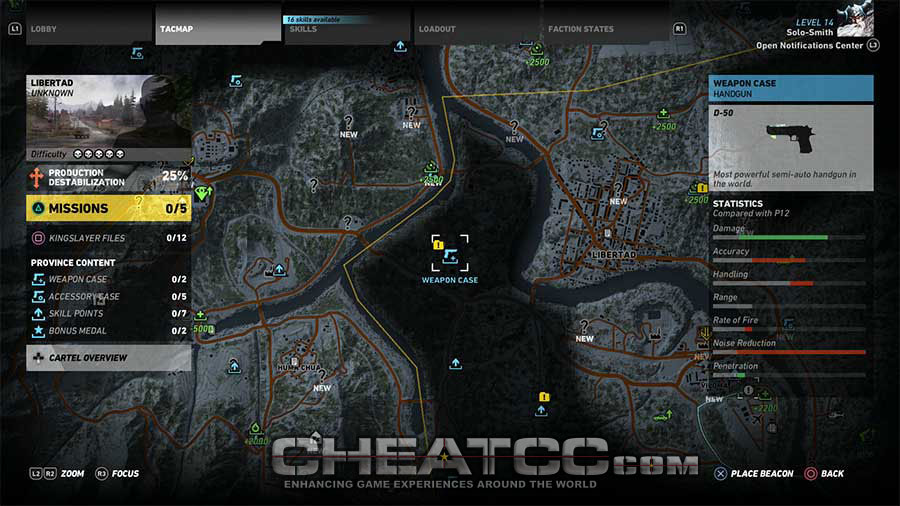 Ghost Recon Wildlands Karte.Tom Clancy S Ghost Recon Wildlands Cheats Codes Cheat Codes
