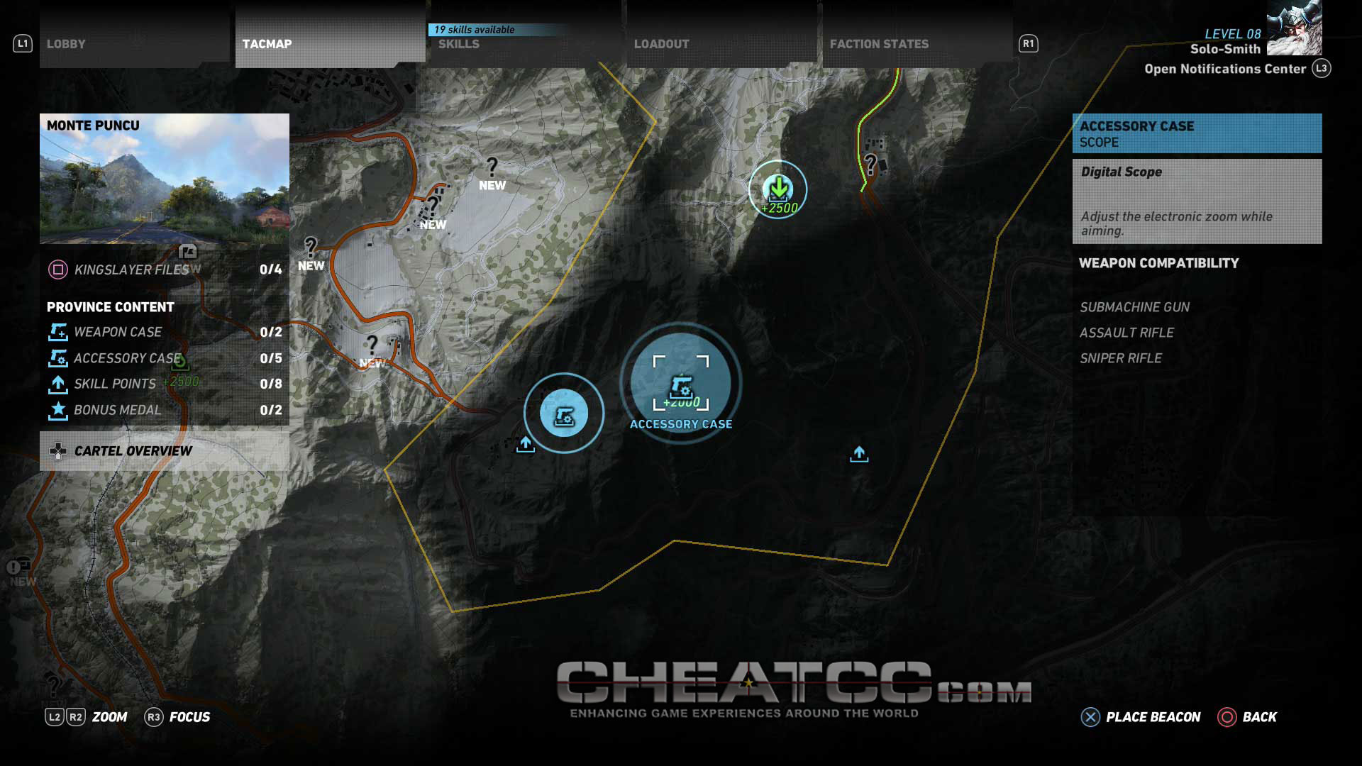 Tom Clancy's Ghost Recon: Wildlands Cheats, Codes, Cheat Codes