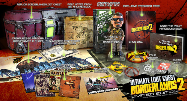 Details On <b>Borderlands 2</b> Limited Edition Revealed - <b>Cheat Code</b> Central