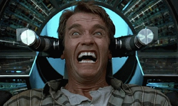 Is Total Recall, a movie that lived on its gross-out factor and adult ...