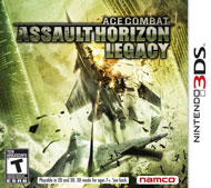 Ace Combat: Assault Horizon Legacy Box Art