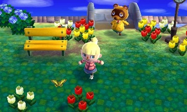Animal Crossing 3DS Screenshot