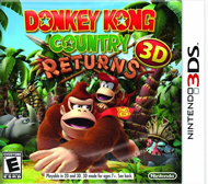 Donkey Kong Country Returns 3D Box Art