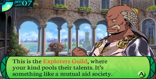 Etrian Odyssey IV: Legends of the Titan Screenshot