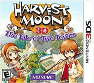 Harvest Moon: The Tale of Two Towns Box Art