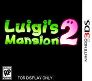 Luigi's Mansion: Dark Moon Box Art