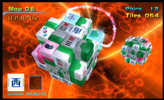 Mahjong Cub3d Screenshot