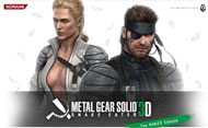 Metal Gear Solid 3: Snake Eater - The Naked Sample  box art