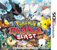 Pokémon Rumble Blast Box Art