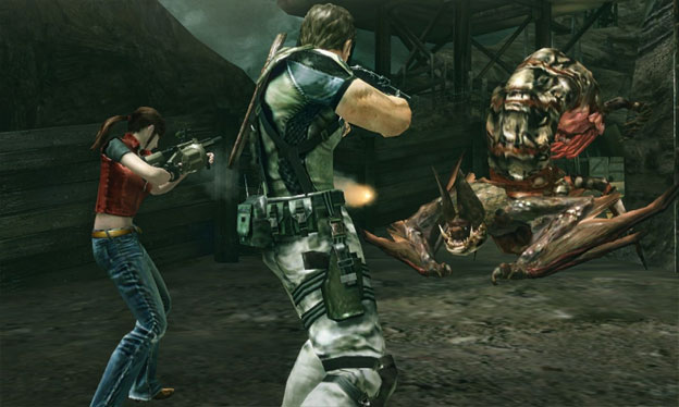Resident Evil: The Mercenaries 3D Screenshot