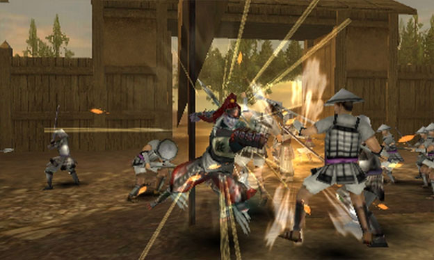 Samurai Warriors: Chronicles Screenshot