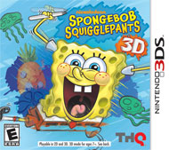 SpongeBob SquigglePants 3D Box Art