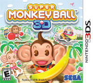 Super Monkey Ball 3D Box Art