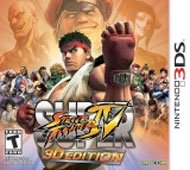 Super Street Fighter IV 3D Box Art