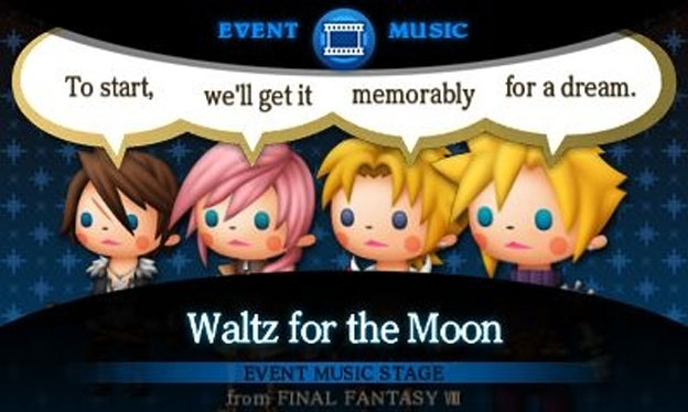 Theatrhythm Final Fantasy Screenshot