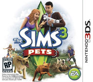 The Sims 3: Pets Box Art