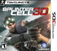 Tom Clancy's Splinter Cell 3D Box Art