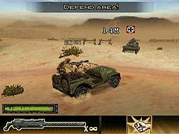 Brothers in Arms DS screenshot