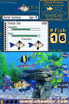 fish tycoon review for the nintendo ds nds