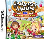 Harvest Moon DS: Grand Bazaar box art