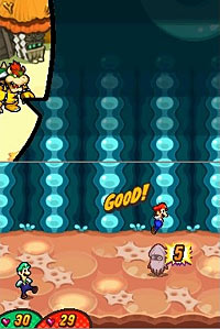 Mario & Luigi: Bowser's Inside Story screenshot