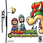 Mario & Luigi: Bowser's Inside Story box art