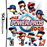 MLB Power Pros 2008 box art