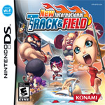 New International Track & Field box art