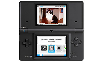 Nintendo DSi System screenshot