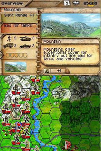 Panzer Tactics DS screenshot