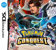 Pokémon Conquest Box Art