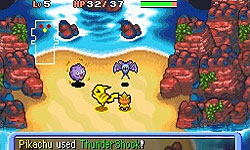 Pok&#233mon Mystery Dungeon: Explorers of Time / Darkness screenshot