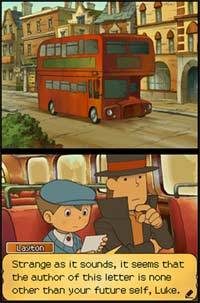 Professor Layton and the Unwound Future screenshot
