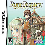 Rune Factory: A Fantasy Harvest Moon box art