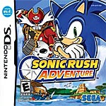 Sonic Rush Adventure box art