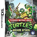 Teenage Mutant Ninja Turtles: Arcade Attack box art