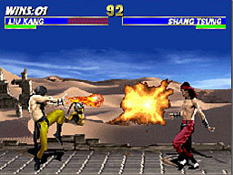 Ultimate Mortal Kombat screenshot