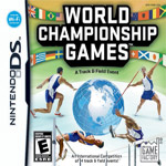 World Championship Games: A Track & Field Event box art