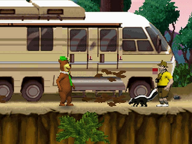 Yogi Bear: The Game Screenshot