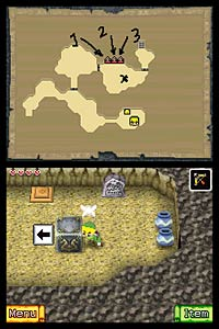 The Legend of Zelda: The Phantom Hourglass screenshot