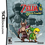 The Legend of Zelda: Spirit Tracks box art