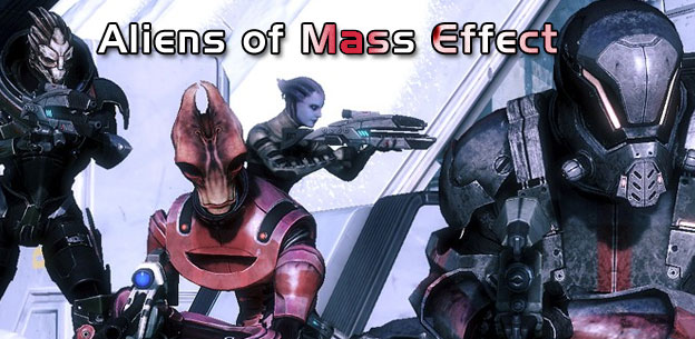 Aliens of Mass Effect