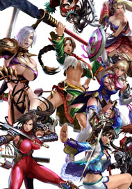 Most of SoulCalibur's Female Cast