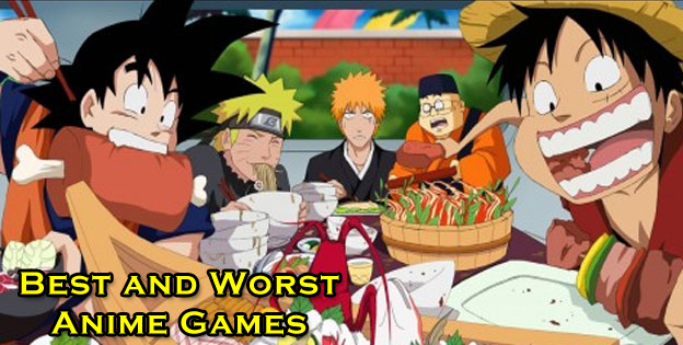 The Best And Worst Anime Games