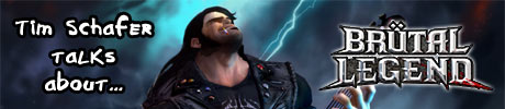 Brutal Legend Conference Call Interview article